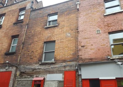 Full restoration works to 3 grade 1 protected structures Dublin 2