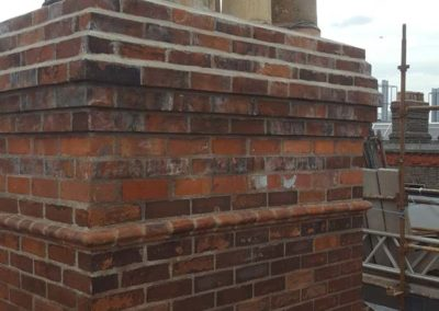 Specialists in repair and restoration to chimney stacks